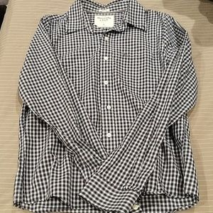 2 button Up A&F Shirts
